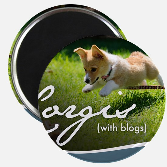 3rd Annual Corgis (with blogs) Calendar Magnet