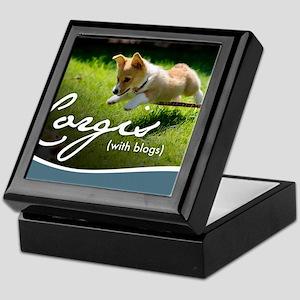 3rd Annual Corgis (with blogs) Calend Keepsake Box