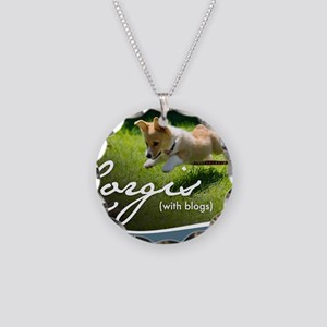 3rd Annual Corgis (with blog Necklace Circle Charm