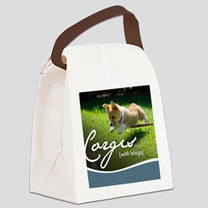 3rd Annual Corgis (with blogs) Ca Canvas Lunch Bag