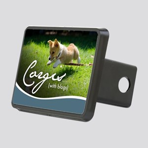 3rd Annual Corgis (with bl Rectangular Hitch Cover