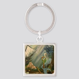 Mysterious Fathoms Square Keychain