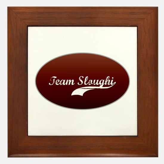 Team Sloughi Framed Tile