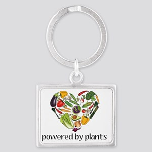 Vegetable Heart Landscape Keychain