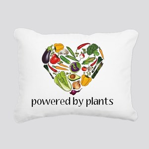 Vegetable Heart Rectangular Canvas Pillow