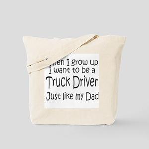 WIGU Trucker Dad Tote Bag