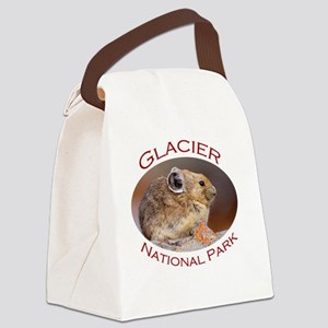 Glacier National Park...Pika Prof Canvas Lunch Bag