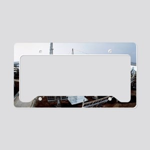 Solar power station License Plate Holder