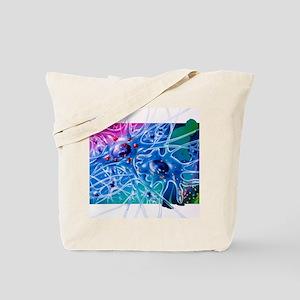 Artwork of Parkinson's disease drug treat Tote Bag