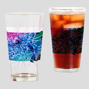 Artwork of Parkinson's disease drug Drinking Glass