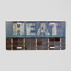 Heat Treatment Plant Aluminum License Plate