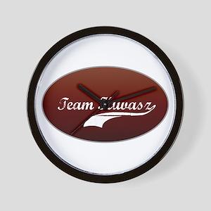 Team Kuvasz Wall Clock