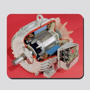 Induction motor Mousepad