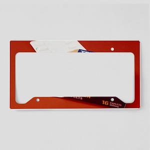 Aspirin tablets License Plate Holder