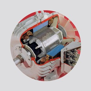 Induction motor Round Ornament