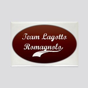 Team Lagotto Rectangle Magnet