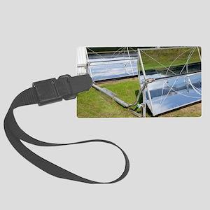 Solar parabolic mirrors, Cologne Large Luggage Tag