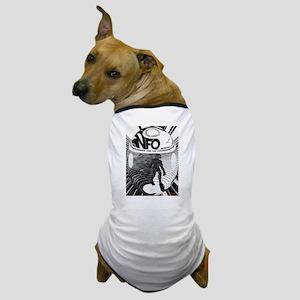Cryptozoology INFO on Bigfoot Dog T-Shirt