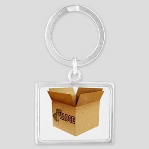 The Box Landscape Keychain