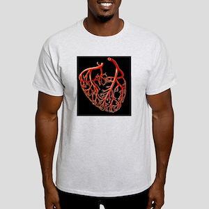 Illustration showing the major coron Light T-Shirt