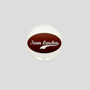 Team Lurcher Mini Button