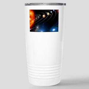 Solar system planets Stainless Steel Travel Mug