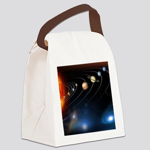 Solar system planets Canvas Lunch Bag