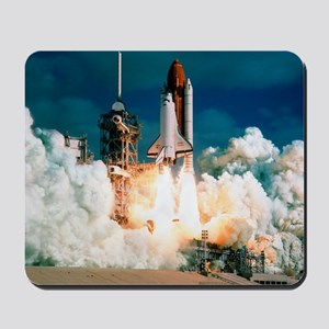 Space Shuttle launch Mousepad