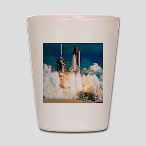 Space Shuttle launch Shot Glass