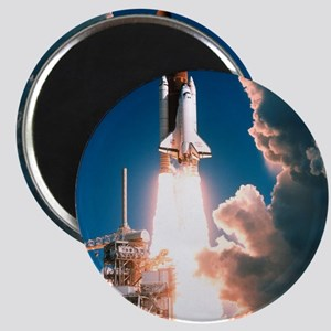 Space Shuttle launch Magnet