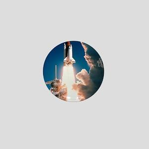 Space Shuttle launch Mini Button