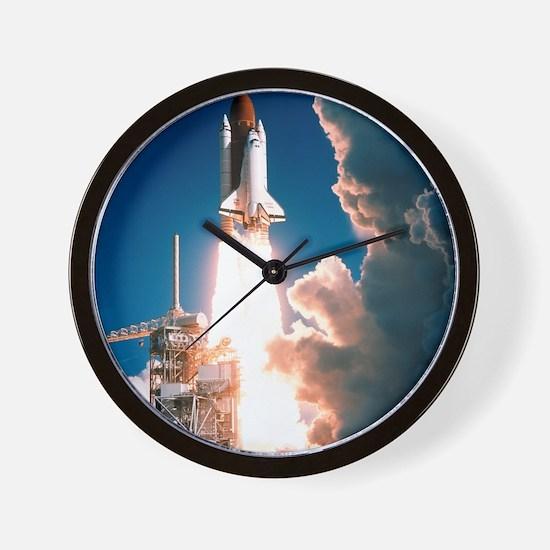 Space Shuttle launch Wall Clock