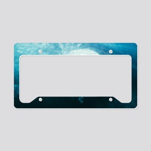 Southern right whale's eye License Plate Holder