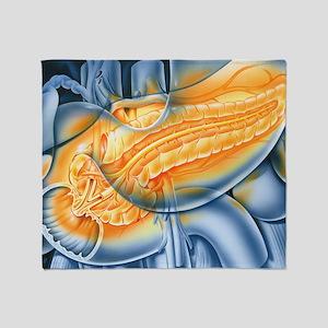 Pancreas Throw Blanket
