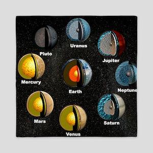 Planets' internal structures Queen Duvet