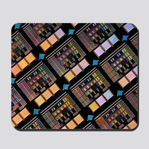 Production of integrated circuits Mousepad