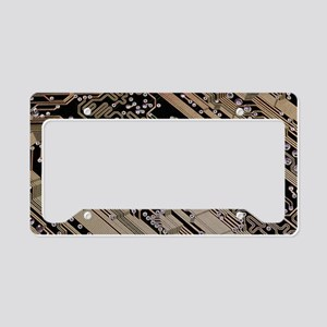 Printed circuit board, comput License Plate Holder