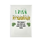 Irish Pittsburgher Rectangle Magnet (10 pack)
