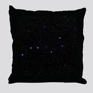 The Plough asterism in Ursa Major Throw Pillow