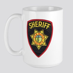 San Mateo Sheriff Large Mug