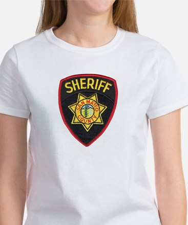 San Mateo Sheriff Women's T-Shirt