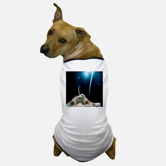 Spacelab SLS-1 view with light reflect Dog T-Shirt