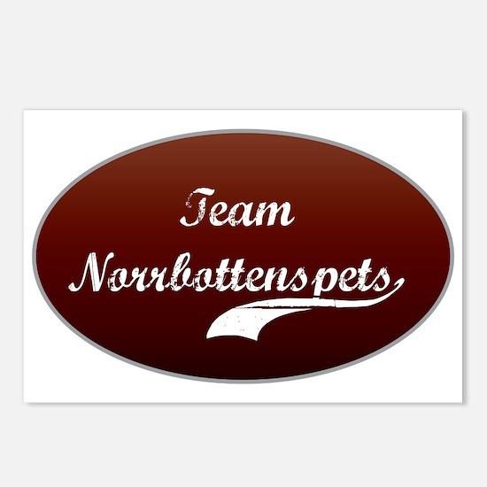 Team Norrbottenspets Postcards (Package of 8)