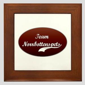 Team Norrbottenspets Framed Tile