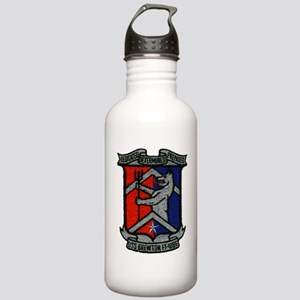 uss brewton ff patch t Stainless Water Bottle 1.0L