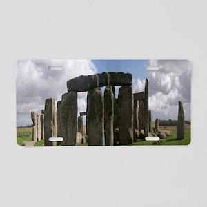 Stonehenge Aluminum License Plate