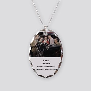 THE ORIGINAL DIRTY SANCHEZ Necklace Oval Charm