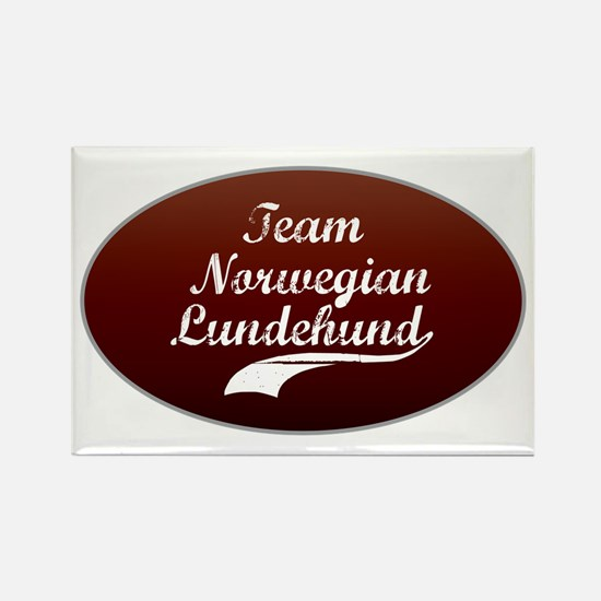 Team Lundehund Rectangle Magnet (10 pack)