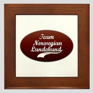 Team Lundehund Framed Tile