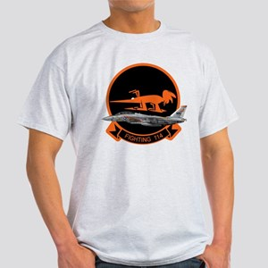 F-14 Tomcat VF-114 Aardvarks Light T-Shirt